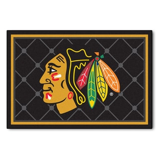 Fanmats NHL Chicago Blackhawks Area Rug (5' x 8')