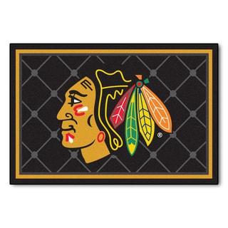 Fanmats NHL Chicago Blackhawks Area Rug (5' x 8')