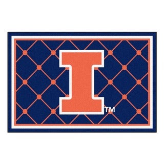 Fanmats NCAA University of Illinois Area Rug (5' x 8')