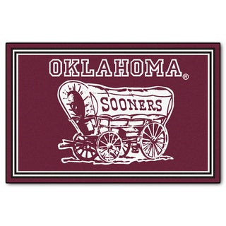 Fanmats University of Oklahoma Area Rug (5 x 8)