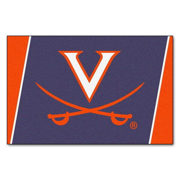Fanmats NCAA University Of Virginia Area Rug (5' X 8