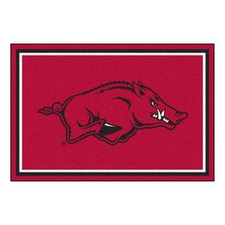 Fanmats NCAA University of Arkansas Area Rug (5' x 8')