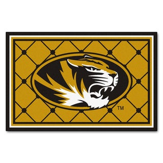 Fanmats NCAA University of Missouri Area Rug (5' x 8')