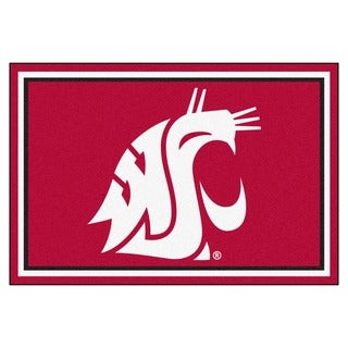 Fanmats NCAA Washington State University Area Rug (5' x 8')