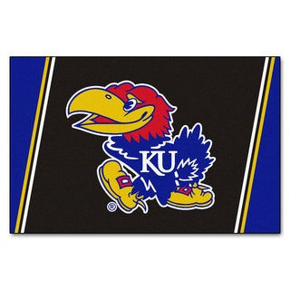 Fanmats NCAA University of Kansas Area Rug (5' x 8')