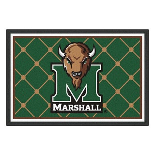 Fanmats NCAA Marshall University Area Rug (5' x 8')