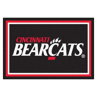 Fanmats University of Cincinnati Area Rug (5 x 8)