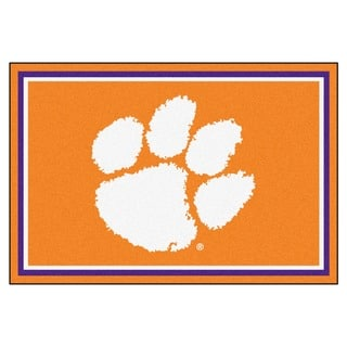 Fanmats NCAA Clemson University Area Rug (5' x 8')