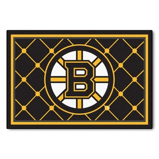 Fanmats NHL Boston Bruins Area Rug (5' x 8')