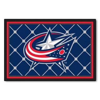 Fanmats NHL Columbus Blue Jackets Area Rug (5' x 8')