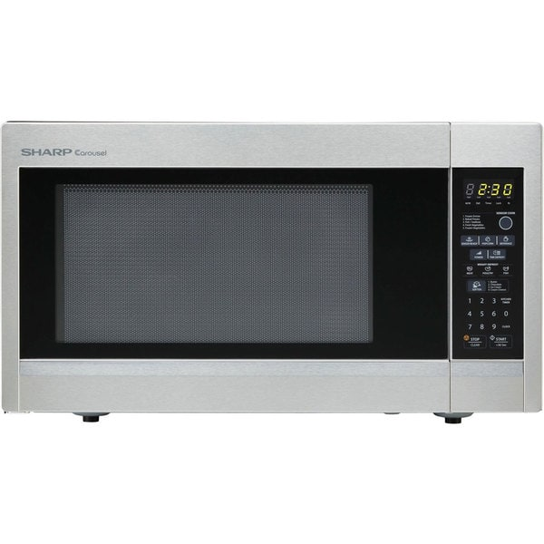 Sharp R551ZS Stainless Steel Countertop Microwave Oven