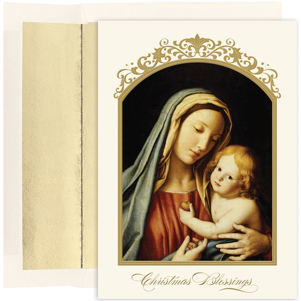 The Madonna and Child Boxed Holiday Cards