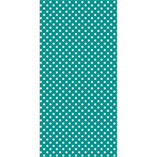 Pass The Tissue, Tissue Paper Roll-Teal Then 18inX144in