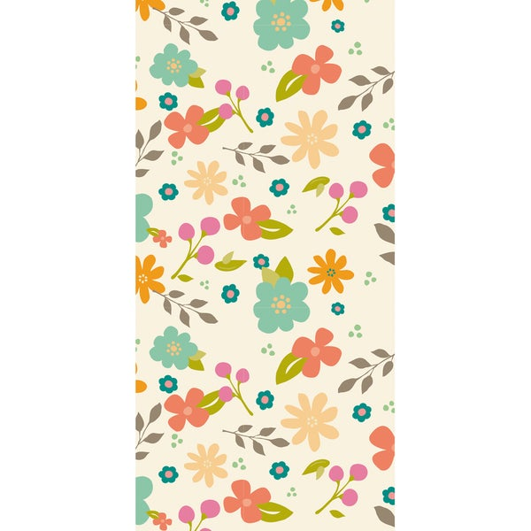 Wrap It Up Paper Roll-Pretty Floral 18inX144in