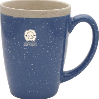Knit Happy Retreat Mug 16oz-Light Blue