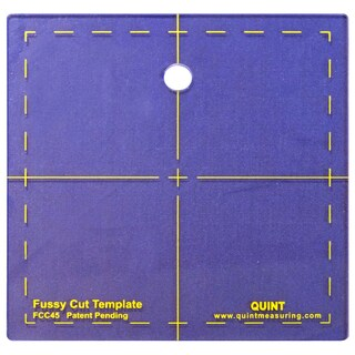 Fussy Cut Series Cutting Squares-4.5inX4.5in