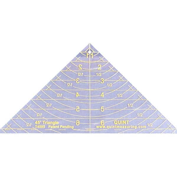 Reverse-A-Ruler Triangle-45 Degrees