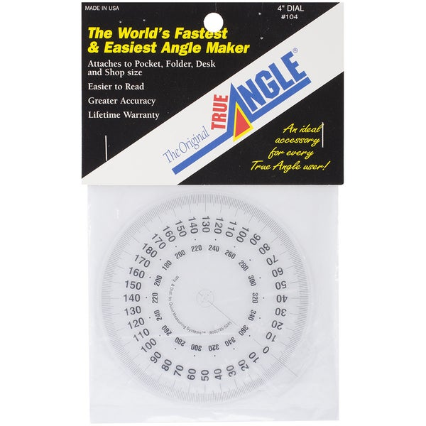 The Original True Angle Dial-4in Diameter