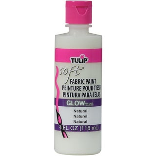 Tulip Soft Fabric Paint 4oz-Glow Natural