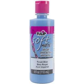 Tulip Soft Fabric Paint 4oz-Royal Blue Matte