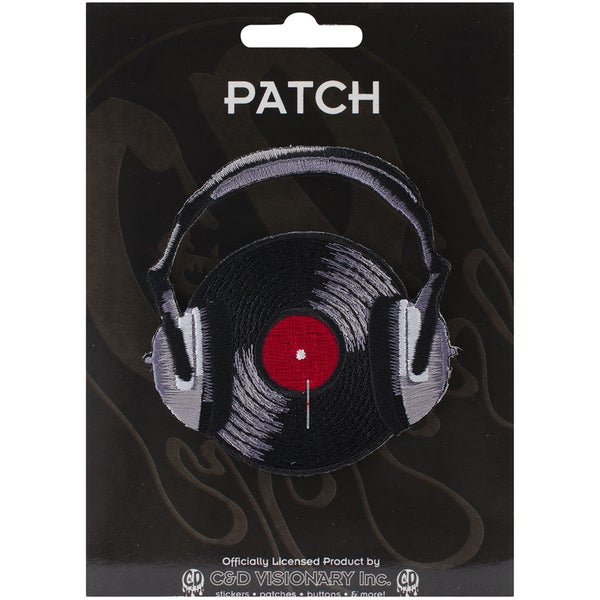 C&D Visionary Patches-Head Phones & Record