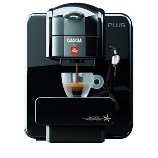 Gaggia 105399 Illy Plus Single Serve Espresso Machine