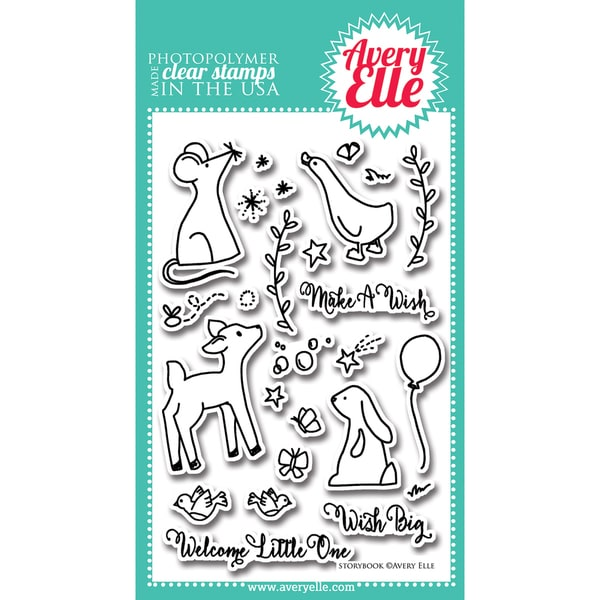 Avery Elle Clear Stamp Set 4inX6in-Storybook