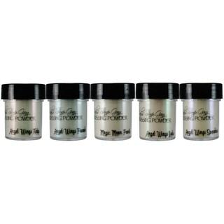 Lindy's Stamp Gang 2-Tone Embossing Powder .5oz 5/Pkg-Winter Wonderland