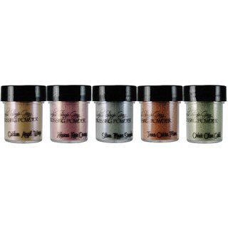 Lindy's Stamp Gang 2-Tone Embossing Powder .5oz 5/Pkg-Nantucket Pearls