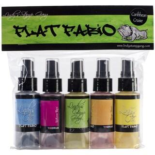 Lindy's Stamp Gang Flat Fabios Set 5/Pkg-Caribbean Cruise