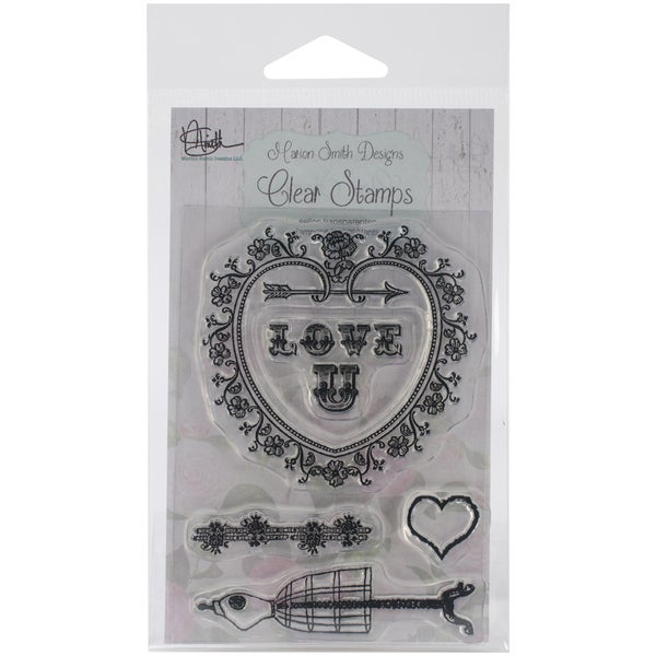 Clear Stamps 3inX4in-Love U