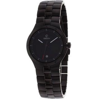 Obaku Women's Harmony Black Stainless Steel Watch