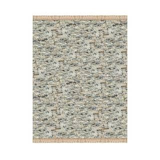 Verginia Berber Dark/ Natural Area Rug (5'3 x 7'6)