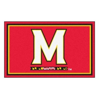 Fanmats NCAA University of Maryland Area Rug (4' x 6')