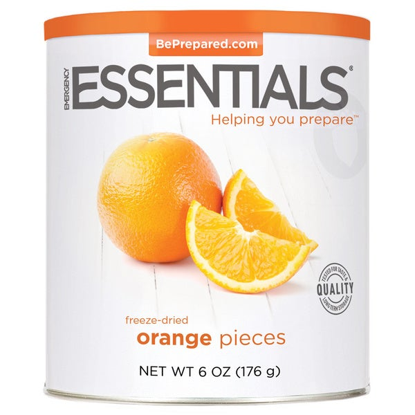 Emergency Essentials Freeze-dried Orange Pieces