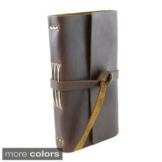 Lithyc Small Handmade Leather Journal with Closure