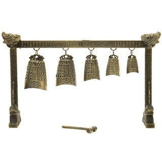 Tibetan Five Bell Gong (China)