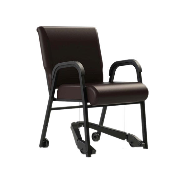 ComforTek Seating 22-inch Metal Frame Chair with Vinyl Seat