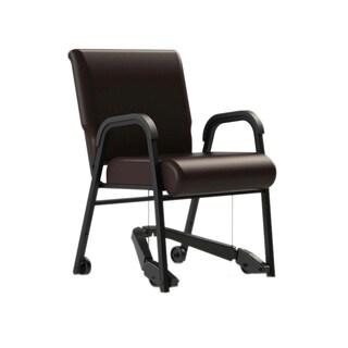 ComforTek Seating 22-inch Metal Frame Chair with Vinyl Seat