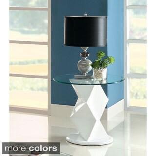 Furniture of America Picazzo Contemporary End Table