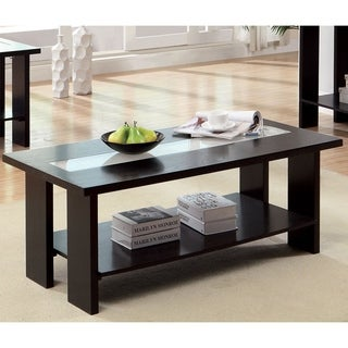 Furniture of America Esteluna LED-strip Modern Coffee Table