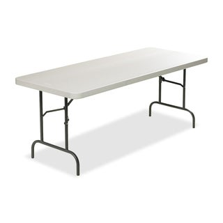 Lorell Ultra Light Platinum Banquet Table