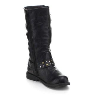 Jelly Beans Girls 'Pandora' Knee-high Riding Boots