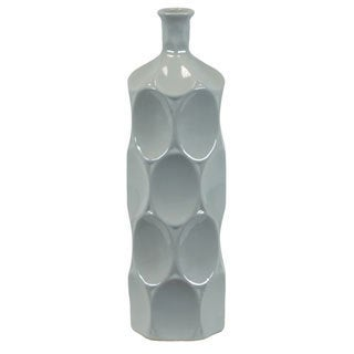Small Grey Ceramic Bottle