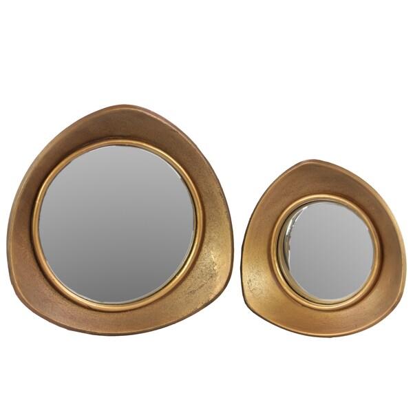 Metal Mirror (Set of 2)