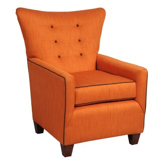 LCFC Home Biscayne Squash Linen Vintage-inspired Armchair
