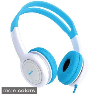 Moki Kid's Volume Limited Over Ear Cushion Headphones