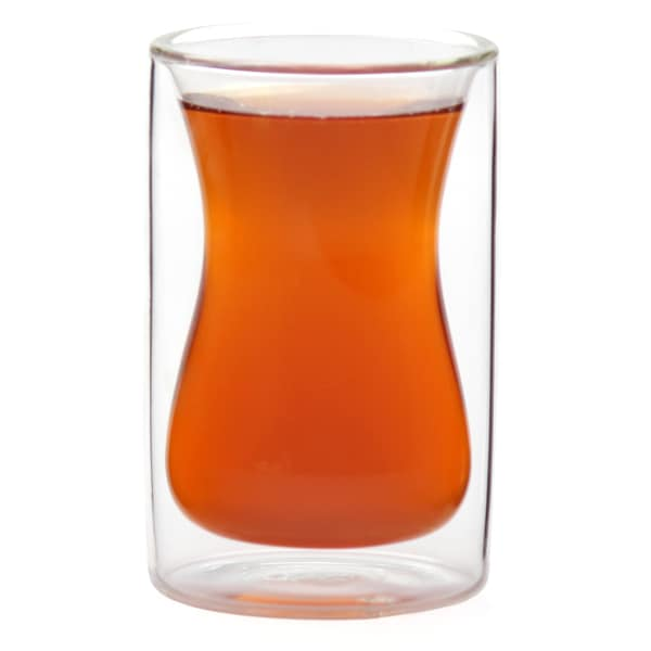 Epar Double-wall Insulated 6-ounce Turkish Style Tea Cups (Set of 2)