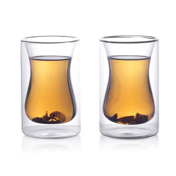 Epar 6 oz. Double-wall Turkish Tea Cup (Set of 2) 13517904