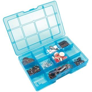 "Storage Studios Embellishment Box-1.25""X7.5""X5"" Teal"